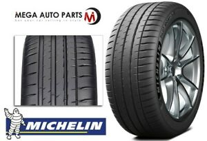 1 Michelin Pilot Sport 4s 255 35r18 94y Max Performance Summer Tires 30000 Mile