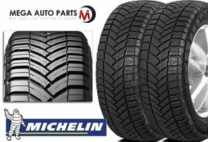 2 Michelin Agilis Crossclimate 225 75r16 10 Ply All Season Any Weather Tires