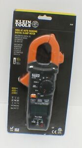 Klein Tools Cl220 400 Amp Ac Auto ranging Digital Clamp Meter New Sealed