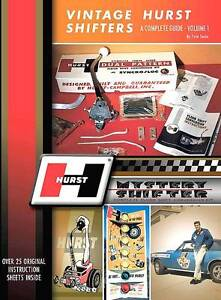 Hurst Parts Id 3 4 Speed Shifters 1955 1970 Numbers Speed Shop Book Catalog