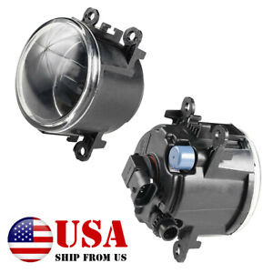 For Ford Focus 2012 2014 Clear Lens Front Bumper Fog Lights Lamps With Bulbs Pair Fits 2012 Ford Focus