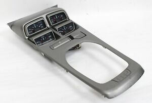 2010 2015 Camaro Ss Center Console Manual Shifter Plate W Gauges Used Oem Gm