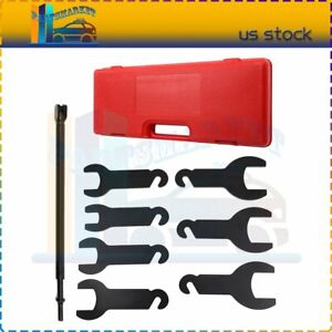 For Ford Gm Chrysler Jeep Pneumatic Fan Clutch Wrench Set Removal Tool Kit 43300