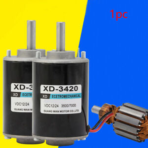 Diy Tool Dc High Speed Component Gear Permanent Magnet Motor For Generator