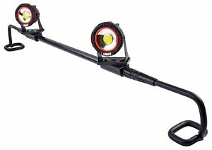 Jegs 81933 Under Hood Led Work Light Fits 48 In To 69 In Wide Hoods Includes