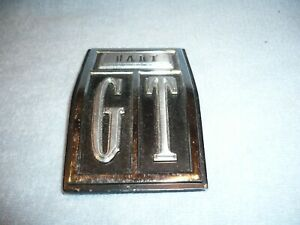 1967 Dodge Dart Gt Tail Panel Dart Gt Emblem Nos Early Take Off Free Ship