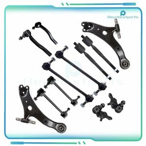 New 12pc Complete Front Rear Steering Parts Fits 2002 2012 Toyota Camry