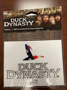 Duck Dynasty Car Truck Auto Decal Stars And Stripes Duck