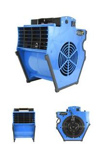 Blue Blower Multi Position Professional Air Mover 1200 Cfm Portable Powerful