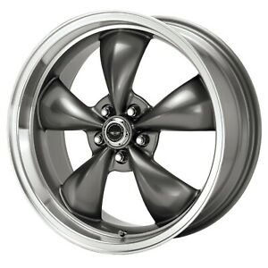 American Racing Ar105m7861b Torq Thrust M Wheel 17 X 8 Black 5x4 75