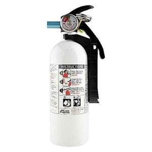 Fire Extinguisher Home Car Office Safety Kidde 5 b c 3 lb Disposable Marine Hot