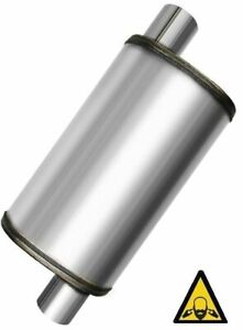 Max Flow Performance Universal Muffler 2 Single Inlet 2 Single Outlet