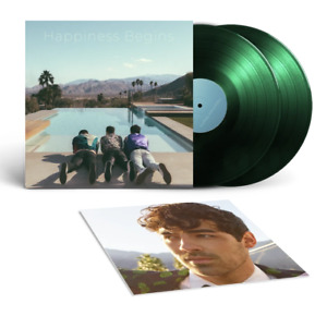 Jonas Brothers Happiness Begins Exclusive Limited Edition Green 2x Vinyl Lp