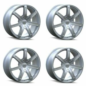 Set 4 17 Touren Tr65 Silver 17x7 5 6x120 6x132 Wheels 30mm Rims