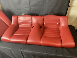 2006 Mustang Gt Back Seats Red
