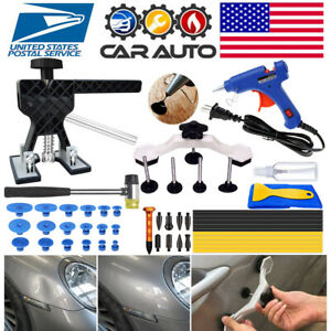 Paintless Dent Repair Removal Auto Tools Car Body Hail Damage Lifter Hammer Kits