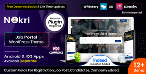 Nokri V1 4 4 Job Board Wordpress Theme