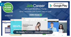 Jobcareer V3 8 Job Board Responsive Wordpress Theme