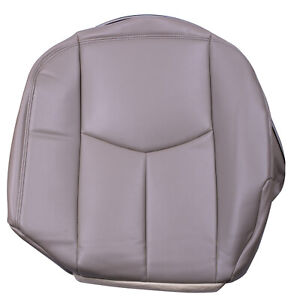 Driver Bottom Leather Seat Cover Tan Fit For 2003 2005 Chevy Silverado Lt Ls Z71