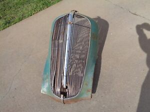1936 Chevy Grill Shell Solid
