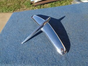 1953 Hudson Hood Ornament Good Used Original