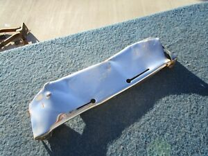 Olds Oldsmobile Front Bumper Tag Plate Solid 1949 1950 1951 88
