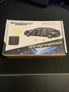 2 Pcs Wireless Led Car Door Logo Projector Courtesy Ghost Puddle Light Fitsbmwws