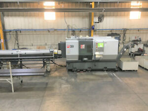 Haas Model Ds30 Live Tool Cnc Lathe With Subspindle 2014 Assetexchangeinc