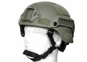 Lancer Tactical MICH 2000 SF Helmet Foliage 17953 $30.00