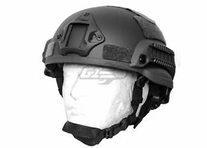 Lancer Tactical MICH 2002 SF Helmet Black 17955 $30.00