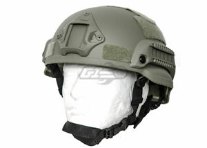 Lancer Tactical MICH 2002 SF Helmet Foliage 17956 $30.00