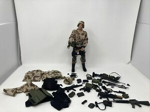 21st Century Toys Ultimate Soldier 12quot; Soldier Figure 1 6 weapons clothes more $45.00