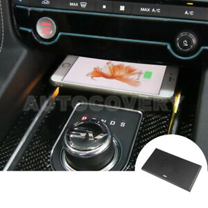 For Jaguar F Pace Xf Xe Wireless Car Charger Wireless Phone Charging Pad