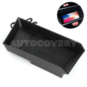 For Bmw X1 F48 X2 F39 Wireless Car Charger Phone Fast Charger Pad Storage Box