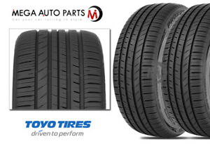 2 Toyo Proxes Sport A s 245 45r18 100y Ultra High Performance All Season Tires