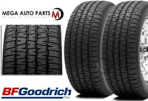 2 Bfgoodrich Radial T a P225 70r14 98s Rwl White Letter All Season Touring Tires
