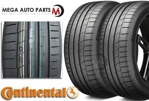 2 Continental Extremecontact Sport 285 40zr17 100w Max Performance Summer Tires