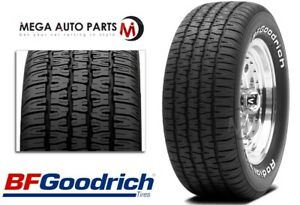 1 Bfgoodrich Radial T a P245 60r15 100s Rwl White Letter All Season Touring Tire