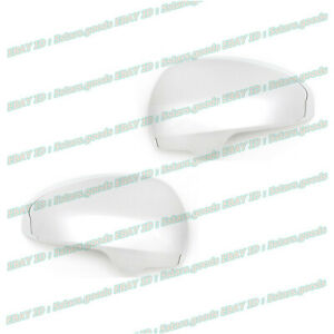 Set For 2012 2015 Scion Iq Hatchback Chrome Side Rear View Mirror Covers Trims