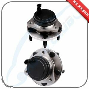 Pair 2 Front Left Or Right Wheel Hub Bearing Assembly Fits Pontiac G8 5lug W Abs