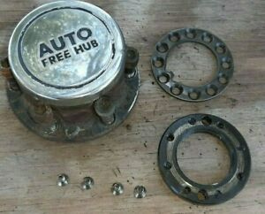 1 83 91 Mitsubishi Montero Front Hub Complete Automatic Locking Assembly L R