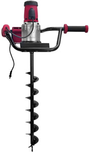 Xtremepowerus 1200w 1 6hp Electric Post Hole Digger W 4 Auger Bits