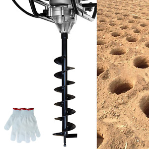 Syitcun 4x31 5inch Earth Auger Drill Bit Gas Powered Post Hole Digger 3 4 Sha