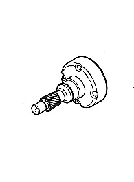 Oem Pinion Drum For Multiquip Mikasa Mtx70 Mtx80 Rammers 366345170