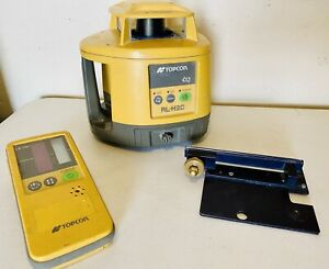 Topcon Rl h3c Rotary Laser Level With Ls 70c And Bracket L k