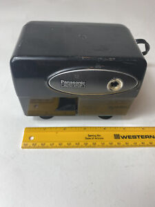 Panasonic Vintage Auto Stop Electric Pencil Sharpener Model Kp 310 Tested Works