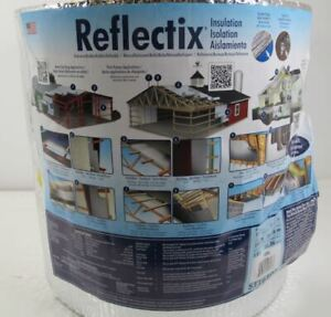 Reflectix 16 In X 100 Ft Double Reflective Insulation Roll With Staple Tab Edge