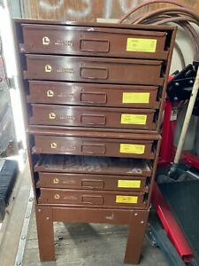 Lawson Fastener Drawer Chest Cabinet Set used202103005