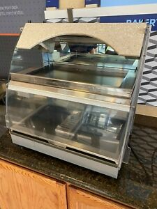 Hatco Grcmw 1dh Gloray 26 Commercial Curved Countertop Display Case Warmer Hot