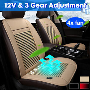 12v Cooling Car Seat Cushion Cover Air Ventilated Fan Conditioned Cooler Pads